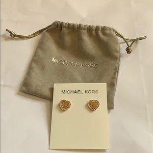 Michael Kors Heart Studs